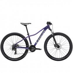 Vélo VTT femme 27.5p alu - TREK 2021 Marlin 5 - Violet Flip décor argent