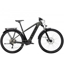 Vélo électrique VTT 29p TREK 2021 alu Powerfly Sport 4 Equipped 500 gris anthracite décor noir