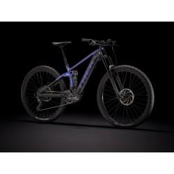Vélo électrique VTT 29p TREK 2021 alu Rail 5 500 violet et noir décor violet et noir