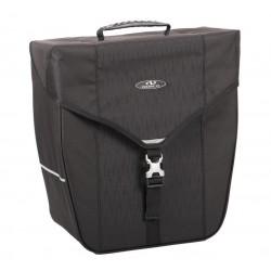 Sacoche NORCO arrière simple Bandon Classic 20 noir sur porte-bagage
