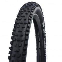 Pneu 26p SCHWALBE vtt Nobby-Nic HS602 Performance Addix E50 TLR noir flancs noirs