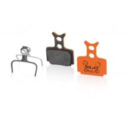 Plaquettes de frein XLC FORMULA support acier BP-O31 orange Méga One/R/RX