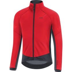 Veste thermique GORE hiver C3 Gore-Tex Infinium rouge décor noir
