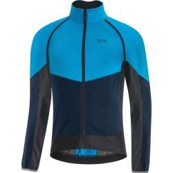 Veste coupe-vent - GORE Phantom GoreTex Infinium - bleu ciel décor bleu nuit et noir