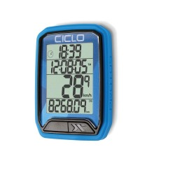 Compteur CICLOSPORT sans fil Protos 213 bleu