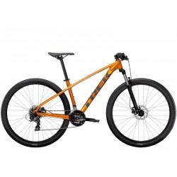 Vélo VTT 27.5p alu - TREK 2021 Marlin 5 - Orange Factory Décor gris Lithium : 100mm