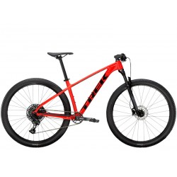 Vélo VTT 27.5p alu - TREK 2021 X-Caliber 8 - Rouge Radioactive Décor noir : 100mm