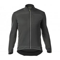 Veste thermique MAVIC hiver Essential So gris anthracite décor noir