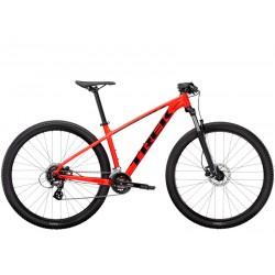Vélo VTT 27.5p alu - TREK 2021 Marlin 6 - Rouge Radioactive Décor noir