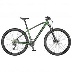 Vélo VTT 29p alu - SCOTT 2021 Aspect 920 - Vert métallisé Décor noir
