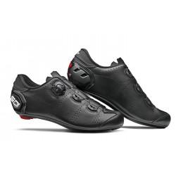 Chaussures route - SIDI Fast - noir mat : semelle nylon renforcée en fibre de carbone - serrage par câble - ventilée et