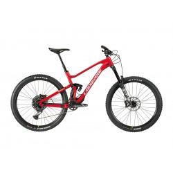 Vélo VTT 29p alu - LAPIERRE 2021 Spicy 6.9 CF - Rouge Décor Gris argent