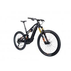 Vélo VTT électrique 27-29p alu - LAPIERRE 2021 Overvolt AM 8.6 625 - Noir Décor orange et gris