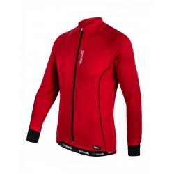 Maillot manches longues SANTINI Ora rouge
