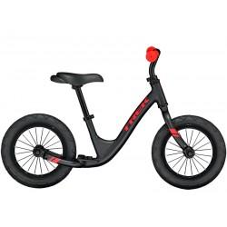 Vélo VTT draisienne garçon 18 à 30 mois alu - TREK 2021 Kickster - Noir décor rouge