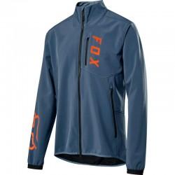 Veste imperméable FOX vtt Ranger 2.5L bleu décor orange