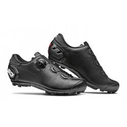 Chaussures vtt - SIDI Speed - noir mat : semelle nylon renforcée avec crampons gomme - serrage par câble - ventilée et