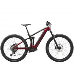 Vélo électrique VTT 29p alu - TREK 2021 Rail 7 625 - noir anthracite brillant décor bordeaux : av160 ar150