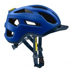 Casque vtt et gravel - MAVIC XA Pro - bleu électrique mat décor bleu pétrole : 20 aérations - 279gr - ppc 100 €ttc -