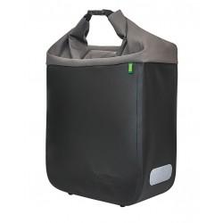 Sacoche RACKTIME arrière simple Donna 15 noir sur porte-bagage