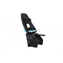 Porte-bébé THULE arrière sur porte-bagage Yepp Nexxt Maxi bleu ciel décor noir