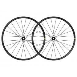 Roues à pneu 29p MAVIC vtt Crossmax XL 29 Boost ID360 XD noire décor noir