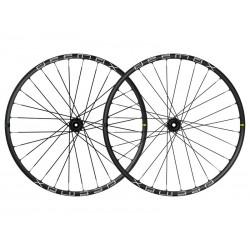 Roues à pneu 27.5p MAVIC vtt vae E-Deemax S 35 27.5 DCL Boost ID360 MS noire décor blanc