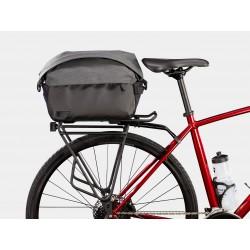 Sacoche BONTRAGER arrière supérieure City Shopper noir décor gris sur porte-bagage