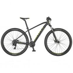 Vélo VTT 29p alu - SCOTT 2021 Aspect 960 - Noir mat décor vert : 100mm