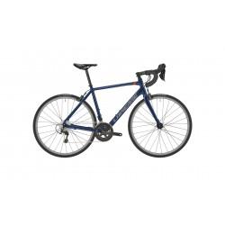 Vélo course alu LAPIERRE 2021 Sensium 2.0 bleu foncé décor gris et rouge