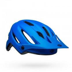 Casque vtt - BELL 4Forty - bleu électrique : 15 aérations - visière réglable - très couvrant et confortable - 309 gr -