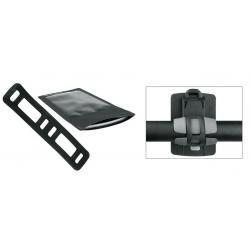 Etui téléphone SKS support SmartBoy étanche tactile noire