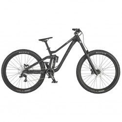 Vélo VTT 29p alu - SCOTT 2021 Gambler 930 - Gris anthracite Décor graffiti gris : 200-200mm