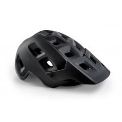 Casque vtt MET - Terranova Mips - noir mat décor noir verni : 17 aérations - protection interne Mips pour plus de