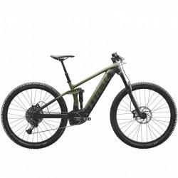 Vélo électrique VTT 29p alu - TREK 2021 Rail 5 625 - Vert olive mat Décor gris et noir : av160 ar150