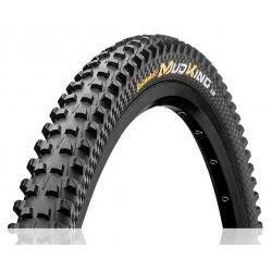 Pneu 29p CONTINENTAL vtt Mud King Protection 29 Tubeless Ready noir flancs noirs