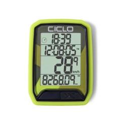 Compteur CICLOSPORT sans fil Protos 213 vert