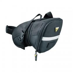 Sacoche TOPEAK de selle Aero Wedge Pack Médium noire