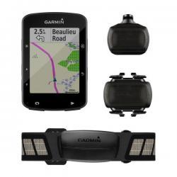 compteur GPS vélo GARMIN Edge 520 Plus Bundle - noir