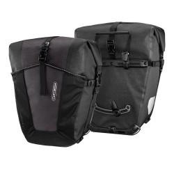 Sacoches ORTLIEB arrières latérales Back Roller Pro Plus F5251 noire décor granit