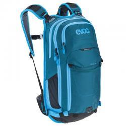 Sac à dos EVOC all mountain Stage 18L bleu pétrole décor bleu ciel