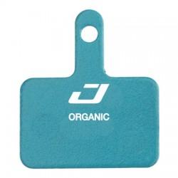 Plaquettes de frein JAGWIRE SHIMANO support acier DCA716 bleu Organic