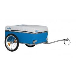 Remorque matèriel XLC acier Carry Van bleu et chassis gris