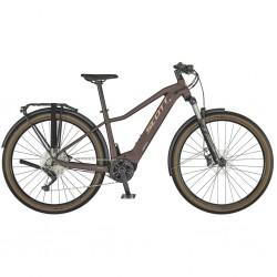 Vélo électrique VTC femme 29p alu - SCOTT 2021 Axis eRide 20 Lady 500