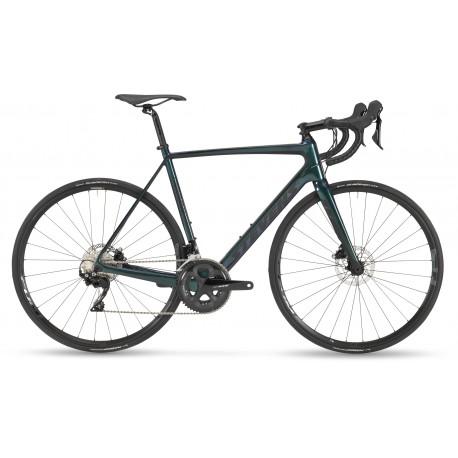Vélo course 700 carbone - STEVENS 2021 Izoard Disc - Noir décor gris argent : 2x11v
