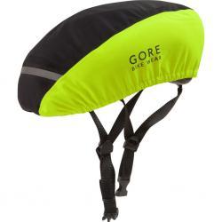 Couvre-casque GORE C3 jaune fluo décor noir en Gore-Tex