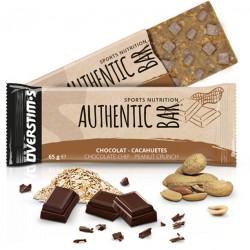 Barre énergétique - OVERSTIM'S Authentic Bar - Chocolat et cacahuètes
