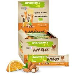 Barre énergétique - OVERSTIM'S Amelix Bio - Pâte d'amandes
