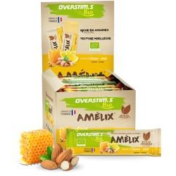 Barre énergétique - OVERSTIM'S Amelix Bio - Citron miel