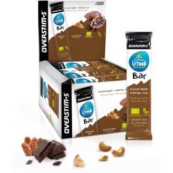 Barre énergétique - OVERSTIM'S UTMB BAR - Bio - Fèves de cacao